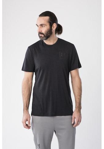 SUPER.NATURAL T-Shirt »M ACTIVE TEE«, atmungsaktiver Merino-Materialmix kaufen