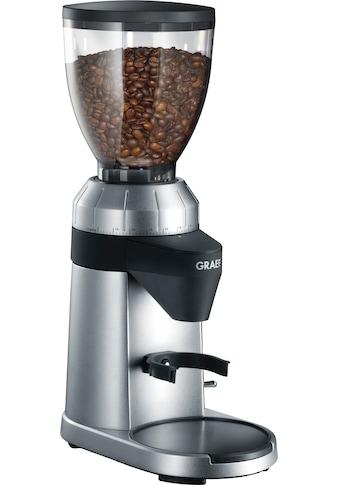 Graef Kaffeemühle CM 800, silber, Kegelmahlwerk kaufen