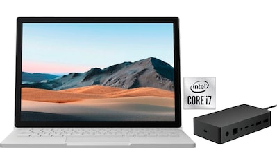Microsoft Surface Book 3 SET Notebook (34,29 cm / 13,5 Zoll, Intel,Core i7, 256 GB SSD) kaufen