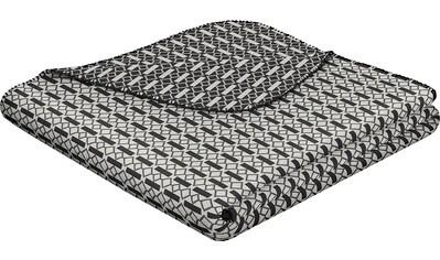 BIEDERLACK Wohndecke »Minimal«, mit feinem grafischen Muster kaufen