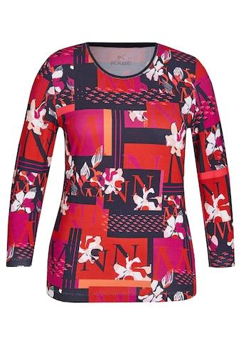 Rabe Shirt mit Rundhalsausschnitt und Mustermix kaufen