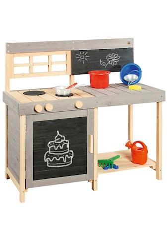 PINOLINO Spielküche »Matschküche Fritz«, BxTxH: 134x43x90 cm kaufen