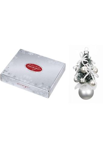 """MAGIC by Inge Christbaumschmuck """"Frosty Silver"""" (3 - teilig) kaufen"""