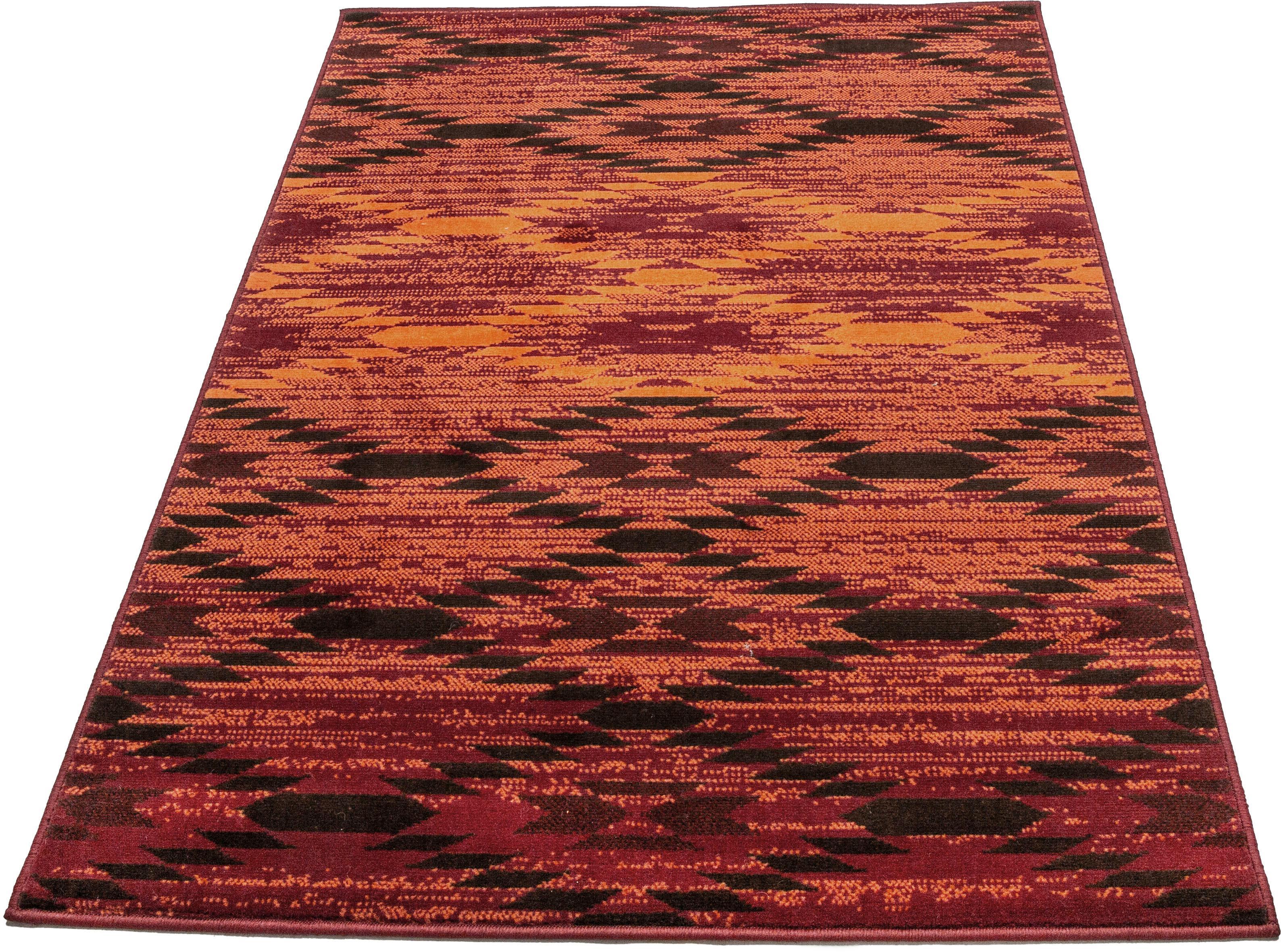 Teppich Leo einfach Schöner Farbwelten rechteckig Höhe 8 mm maschinell gewebt
