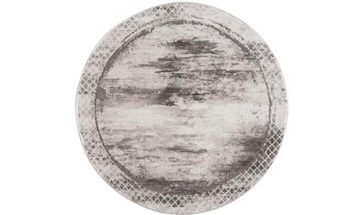 Teppich, »Noa 9332«, Carpet City, rund, Höhe 11 mm, maschinell gewebt kaufen