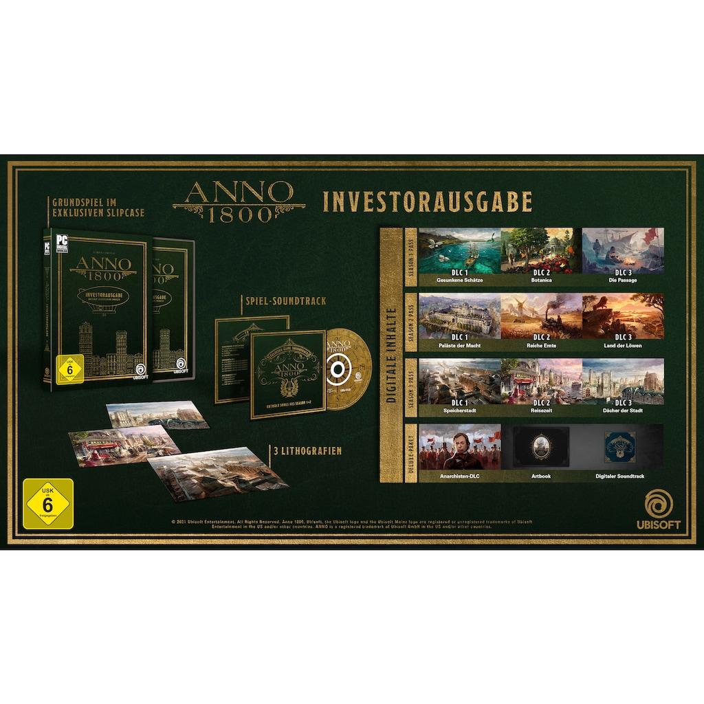 UBISOFT Spiel »Anno 1800 Investorausgabe«, PC, Code in a Box