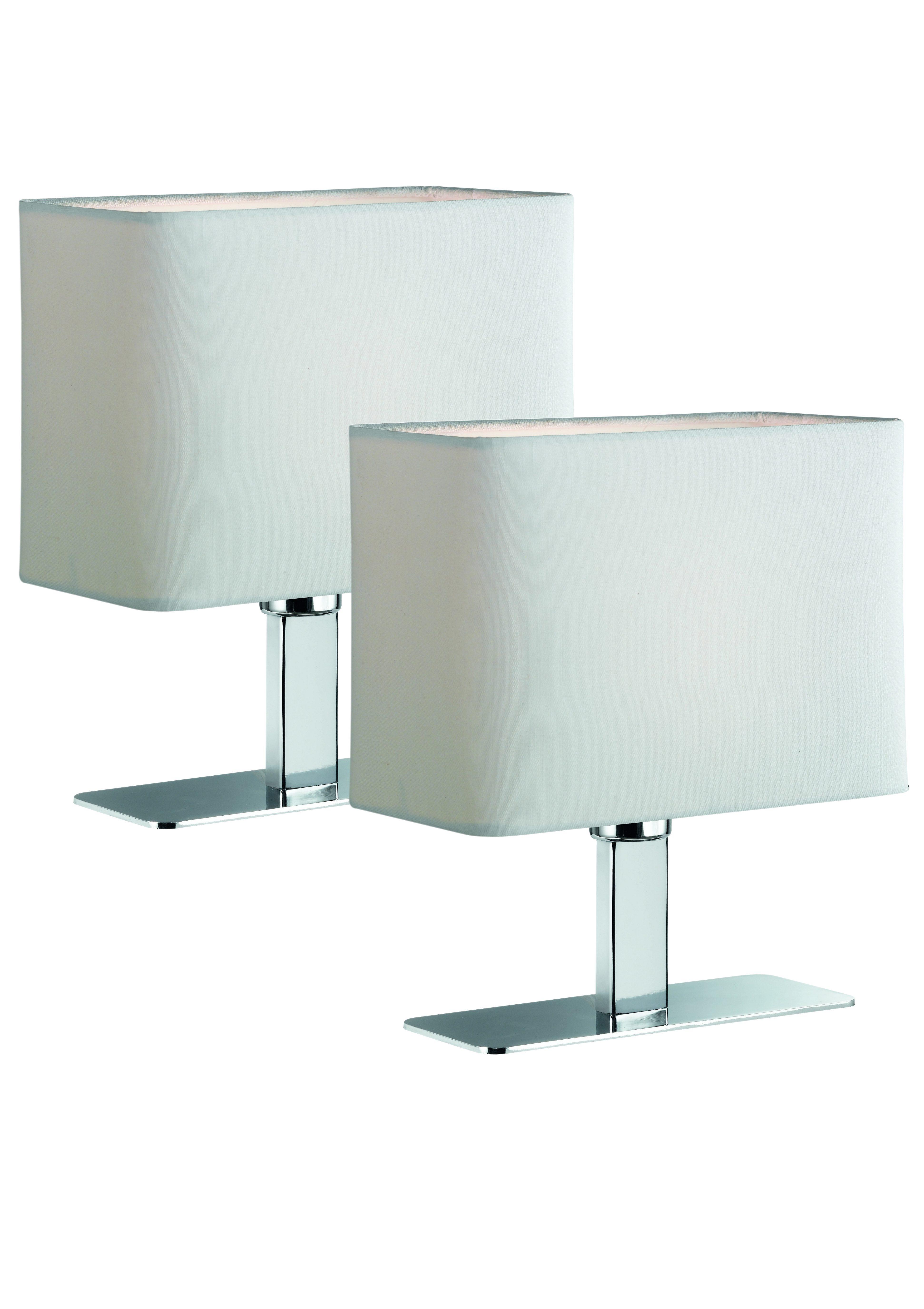 TRIO Leuchten LED Tischleuchte 1-flammig Set - 2 Stück