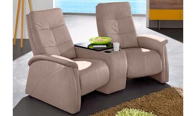 exxpo - sofa fashion 2-Sitzer, mit Relaxfunktion, integrierter Tischablage und... kaufen
