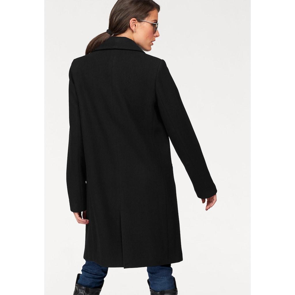 Aniston CASUAL Wollmantel, mit Schalkragen
