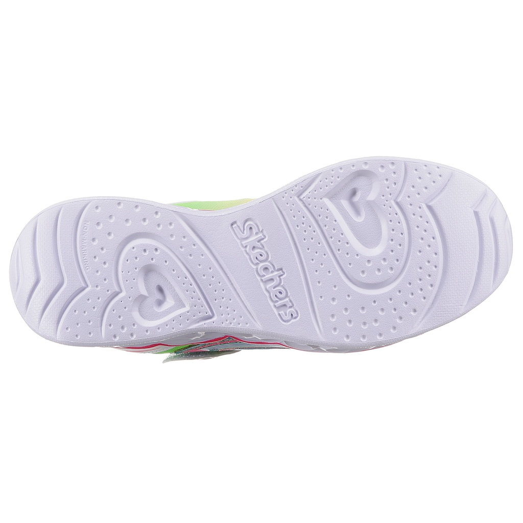 Skechers Kids Sneaker »HEART LIGHTS«, mit ausschaltbarer Blinkfunktion