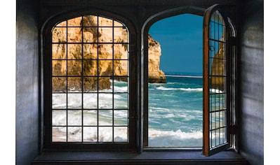 queence Wandsticker »Fels im Meer« kaufen