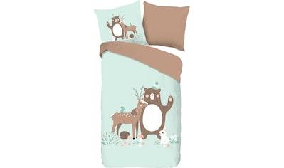 Kinderbettwäsche »Joy«, good morning kaufen