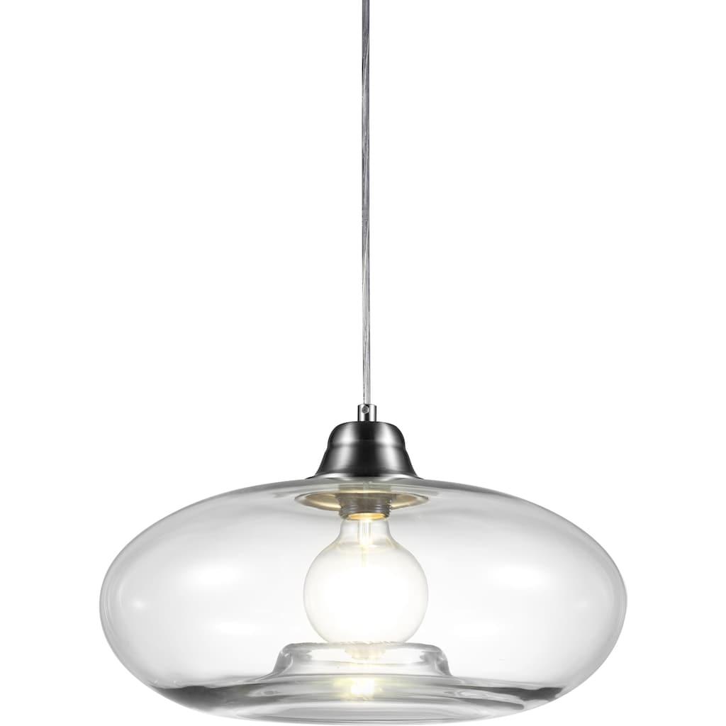 Nino Leuchten LED Pendelleuchte »LILLE«, E27, Warmweiß, LED Hängelampe, LED Hängeleuchte