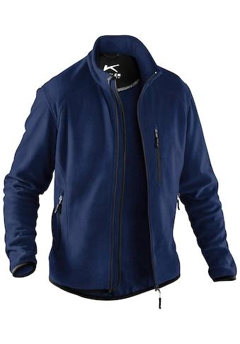 Kübler Fleecejacke »WEATHER«, mit 4 Taschen, Workwear kaufen