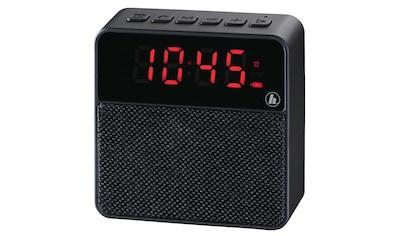 "Hama Mobiler Bluetooth®-Lautsprecher ""Pocket Clock"", Schwar kaufen"