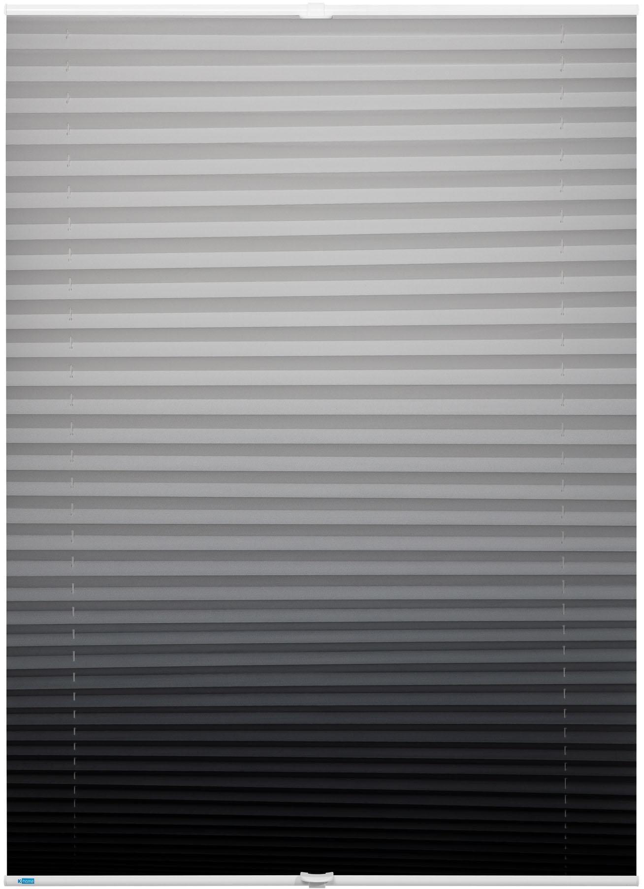 plissee farbverlauf k home lichtschutz ohne bohren verspannt auf rechnung baur. Black Bedroom Furniture Sets. Home Design Ideas