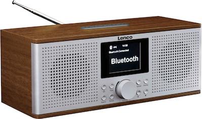 Lenco Internet-Radio »DIR-170WA«, (Bluetooth-WLAN UKW mit RDS-Digitalradio (DAB+)-Internetradio-FM-Tuner 20 W) kaufen