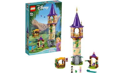 LEGO® Konstruktionsspielsteine »Rapunzels Turm (43187), LEGO® Disney Princess™«, (369 St.) kaufen