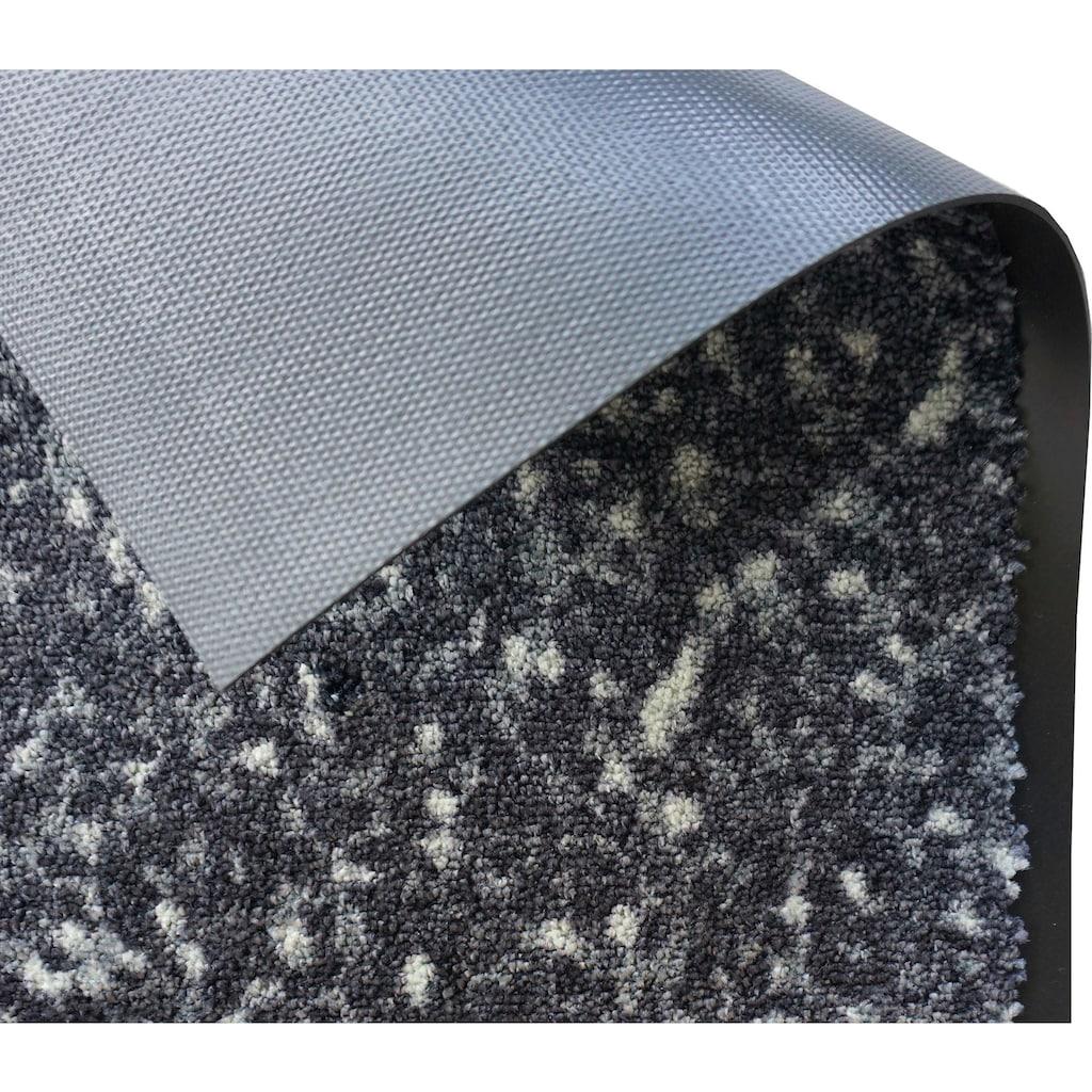 SCHÖNER WOHNEN-Kollektion Fußmatte »Miami 004«, rechteckig, 7 mm Höhe, Fussabstreifer, Fussabtreter, Schmutzfangläufer, Schmutzfangmatte, Schmutzfangteppich, Schmutzmatte, Türmatte, Türvorleger, waschbar