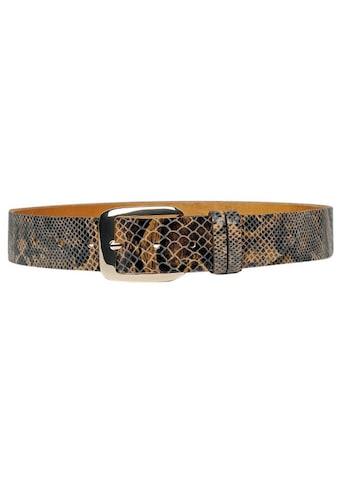 AnnaMatoni Ledergürtel, im Schlangen-Design kaufen