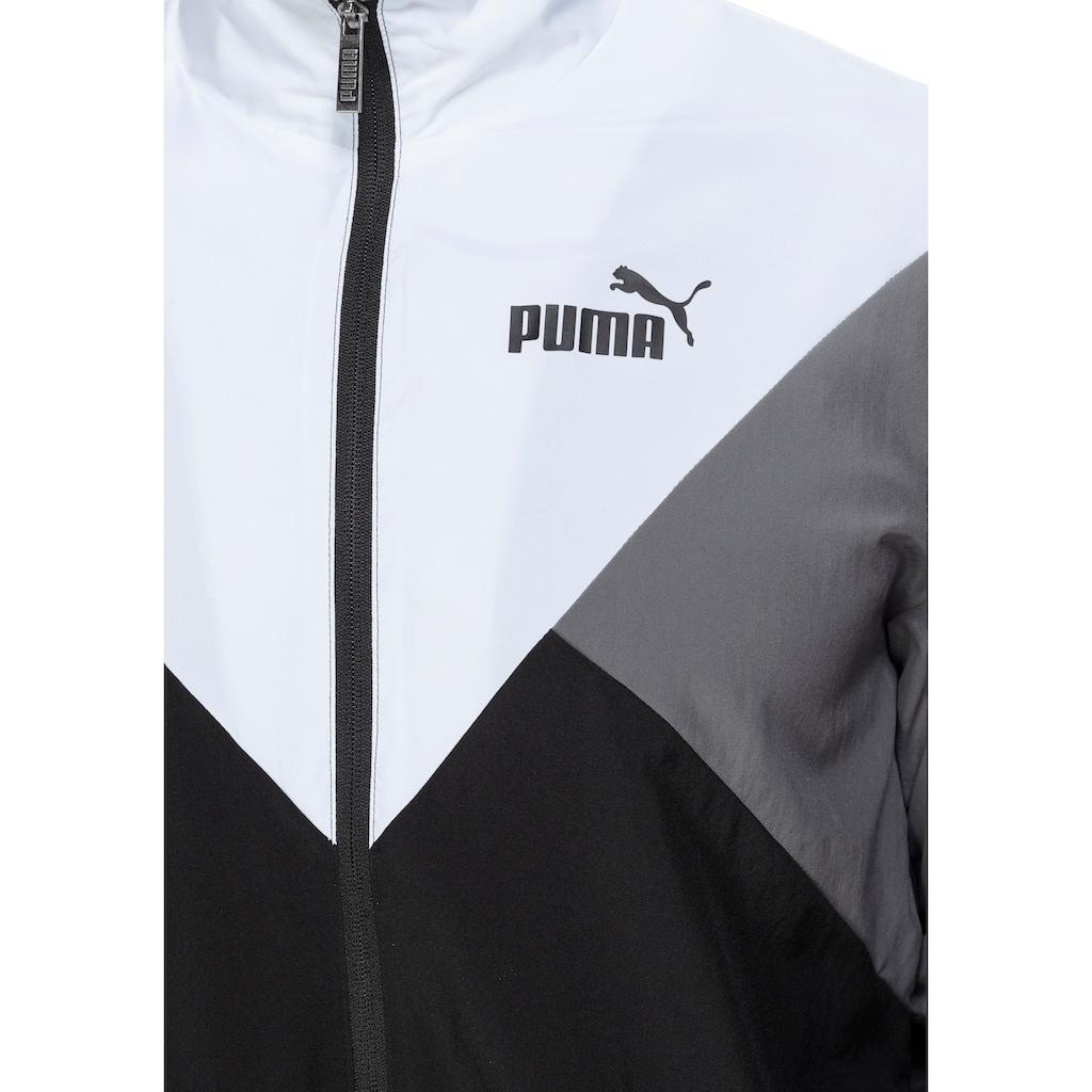 PUMA Trainingsanzug »Retro Tracksuit Woven«, (Set, 2 tlg.)