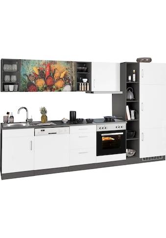 HELD MÖBEL Küchenzeile »Paris«, mit E-Geräten, Breite 310 cm kaufen