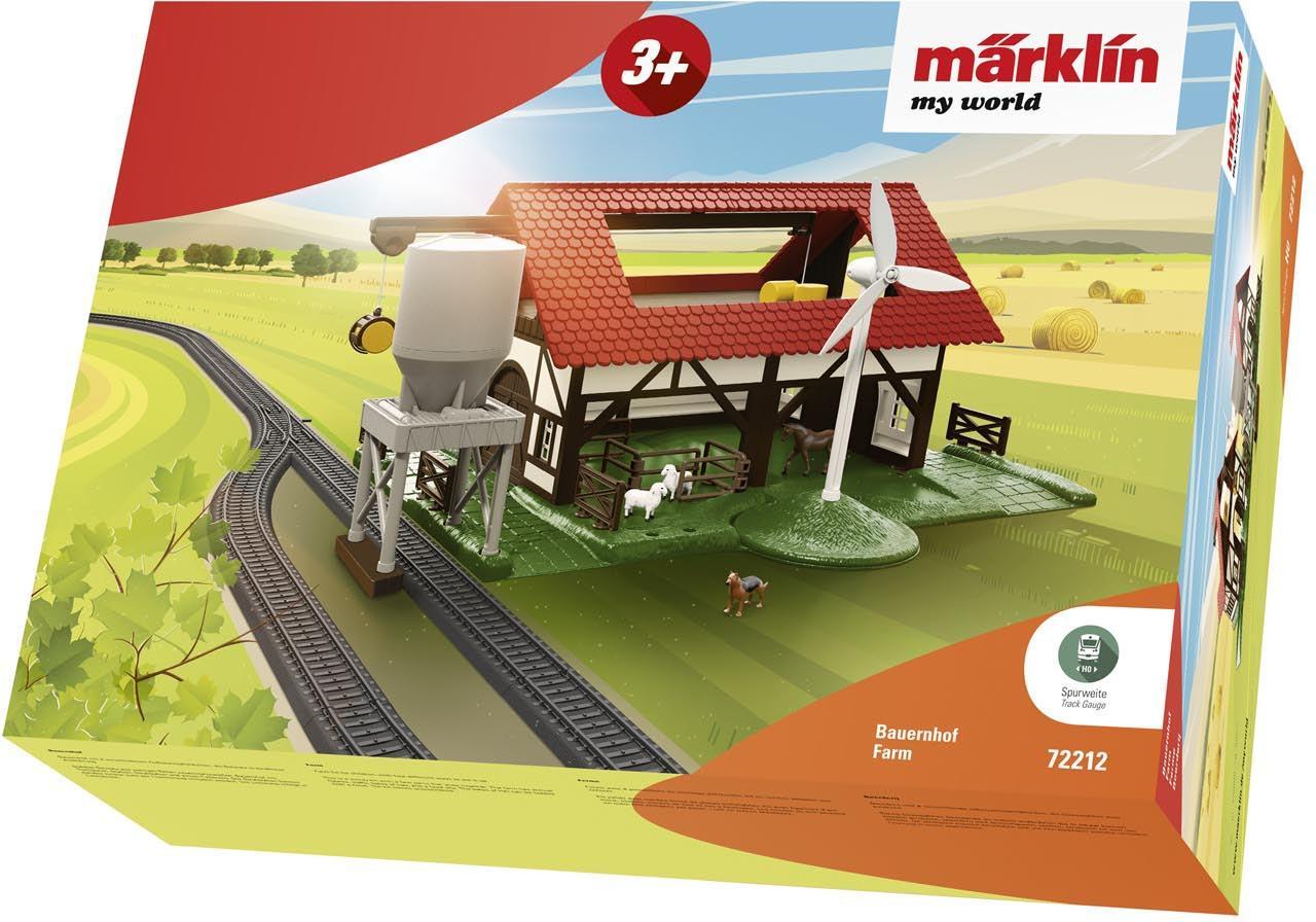 Märklin Modelleisenbahn-Gebäude Märklin my world - Bauernhof - 72212, Spur H0