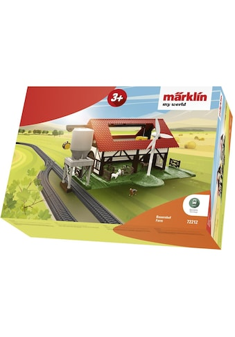 """Märklin Modelleisenbahn - Gebäude """"Märklin my world  -  Bauernhof  -  72212"""", Spur H0 kaufen"""