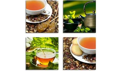 Artland Leinwandbild »Asiatische Teeimpressionen« kaufen