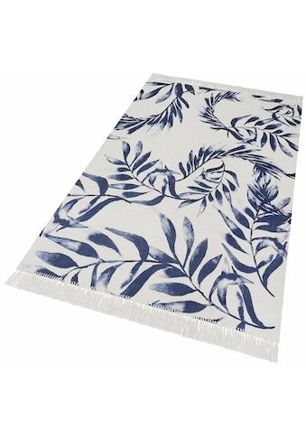 Teppich, »Blue Leaves«, Guido Maria Kretschmer Home&Living, rechteckig, Höhe 3 mm, gedruckt kaufen