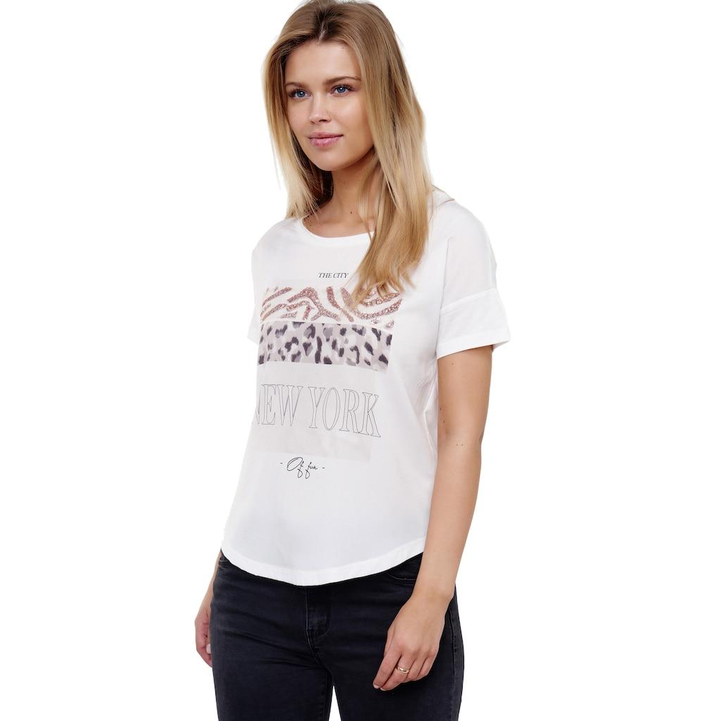 Decay T-Shirt, mit coolem Animalprint