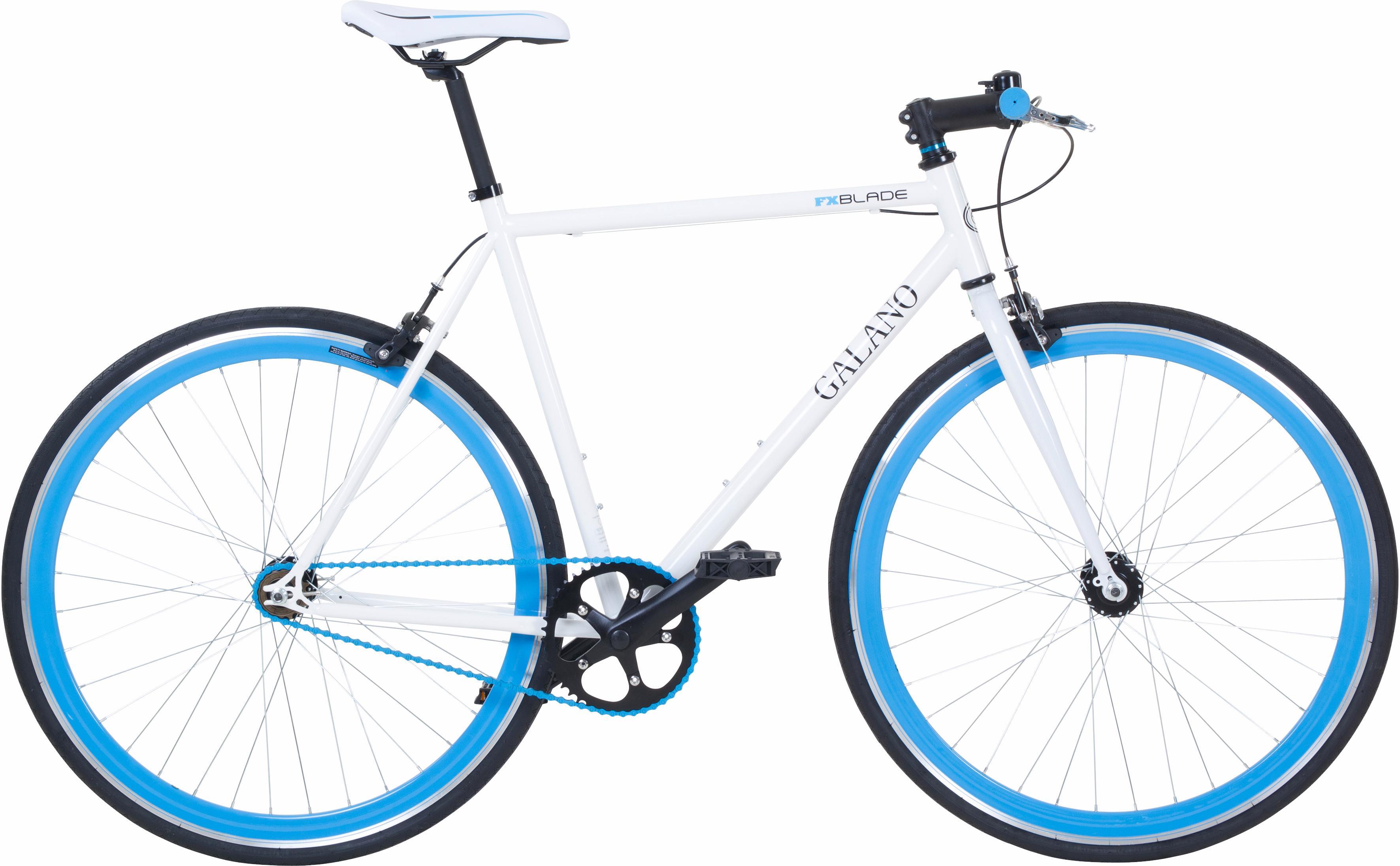 Galano Singlespeed Blade, 1 Gang weiß Damen Damenfahrräder Fahrräder Zubehör Fahrrad