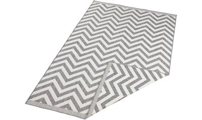 bougari Teppich »Palma«, rechteckig, 5 mm Höhe, In- und Outdoor geeignet, Wendeteppich, Wohnzimmer kaufen