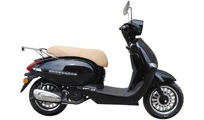 GT UNION Motorroller »Medina«, 125 ccm, 85 km/h, Euro 4, schwarz, ohne Topcase kaufen