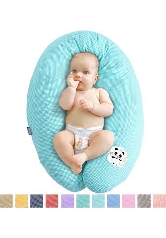 SEI Design Stillkissen »Panda mintgrün«, mit hochwertiger Stickerei kaufen
