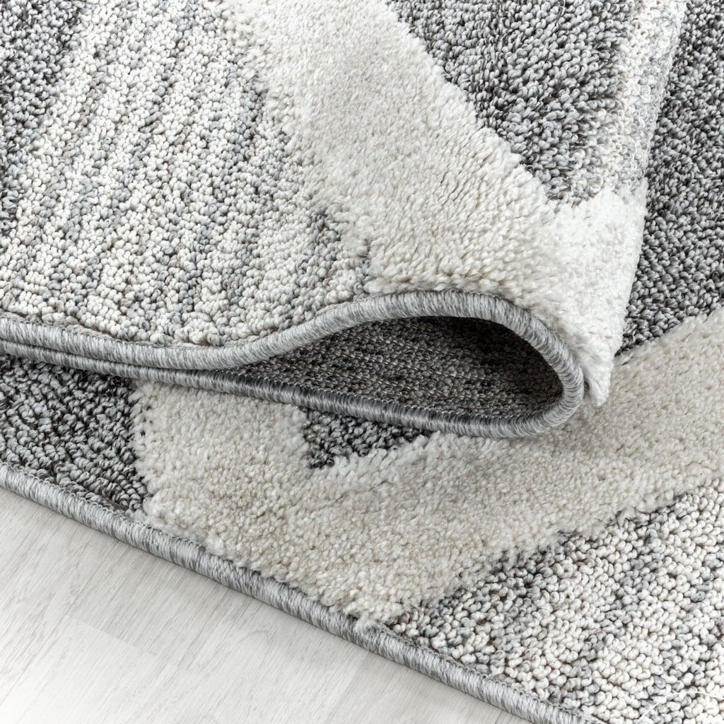 Ayyildiz Teppich »PISA 4709«, rund, 20 mm Höhe