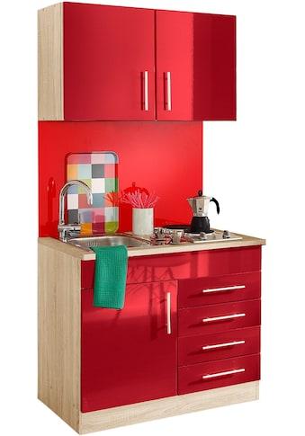 HELD MÖBEL Küchenzeile »Toledo«, mit E - Geräten, Breite 100 cm kaufen
