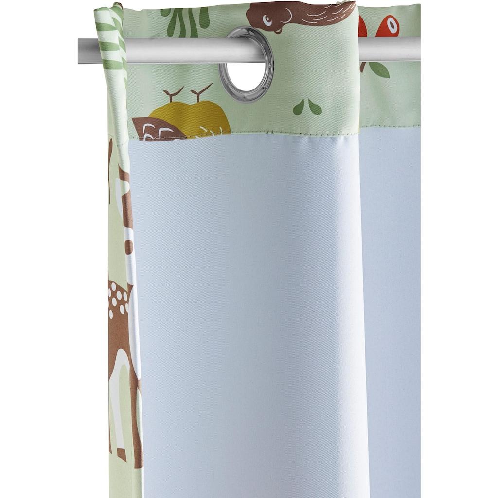 Lüttenhütt Vorhang »Waldtiere«