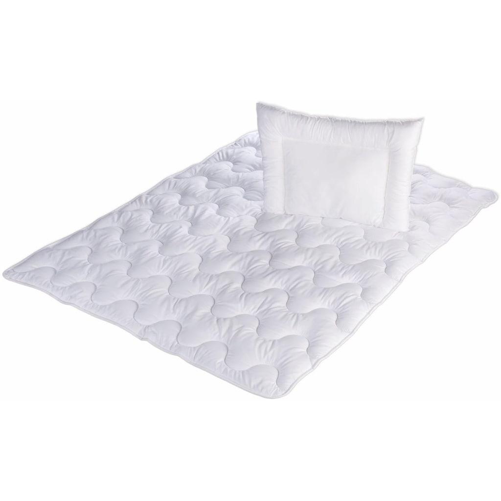 Jekatex Kinderbettdecke + Kopfkissen »Kids«, (Spar-Set), besonders kuschelig
