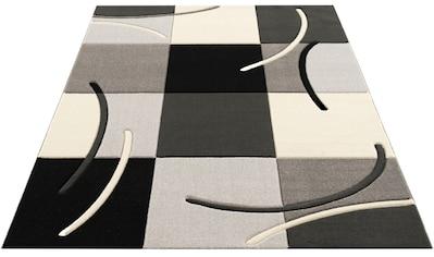 Teppich, »Kjer«, my home, rechteckig, Höhe 18 mm, maschinell gewebt kaufen