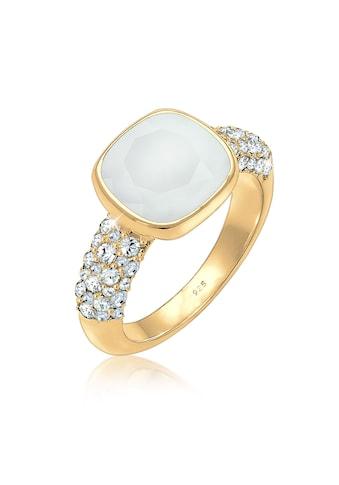 Elli Fingerring »Cocktailring Swarovski® Kristalle 925er Silber« kaufen