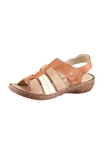 Casual Looks Sandale mit attraktiven Ziernähten kaufen