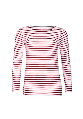 SOLS Longsleeve »Damen Marine T-Shirt, gestreift, langärmlig« kaufen