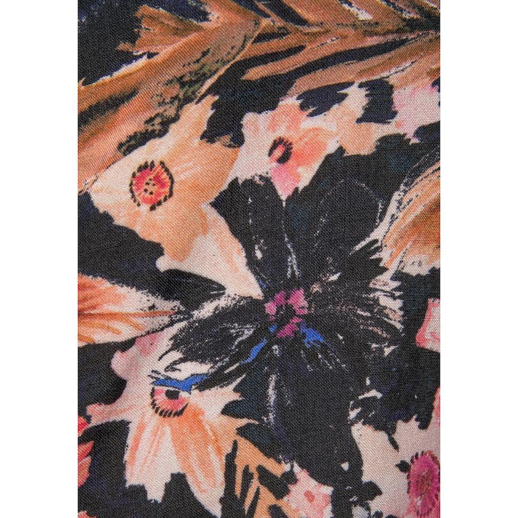 LASCANA Crop-Top, mit Blumendruck