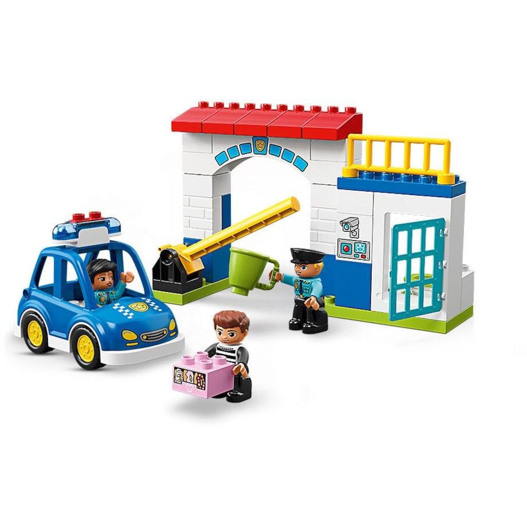 LEGO® Konstruktionsspielsteine »Polizeistation (10902), LEGO® DUPLO™«, (38 St.), mit Licht- und Geräuscheffekten