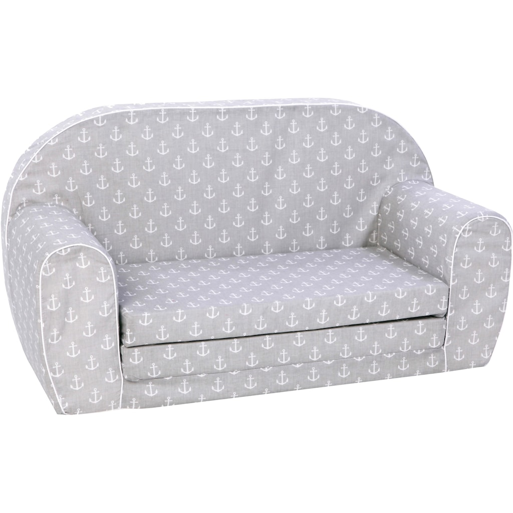 Knorrtoys® Sofa »Maritim grey«, für Kinder; Made in Europe