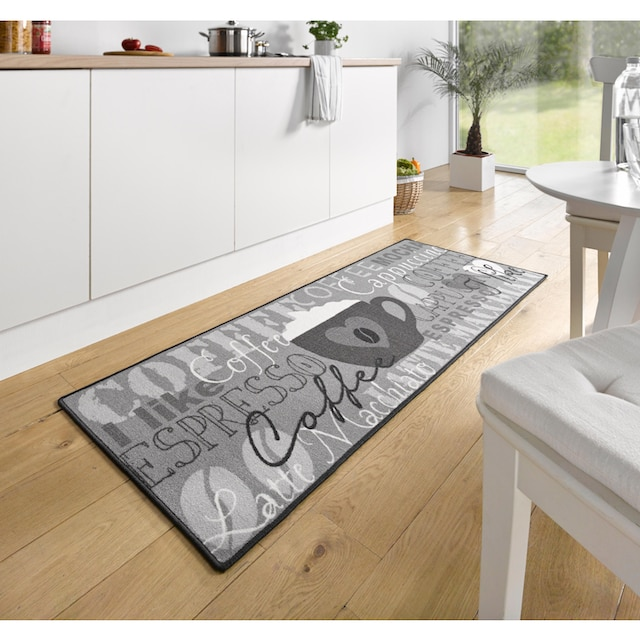 Küchenläufer, »Coffee Cup«, HANSE Home, rechteckig, Höhe 8 mm, maschinell getuftet