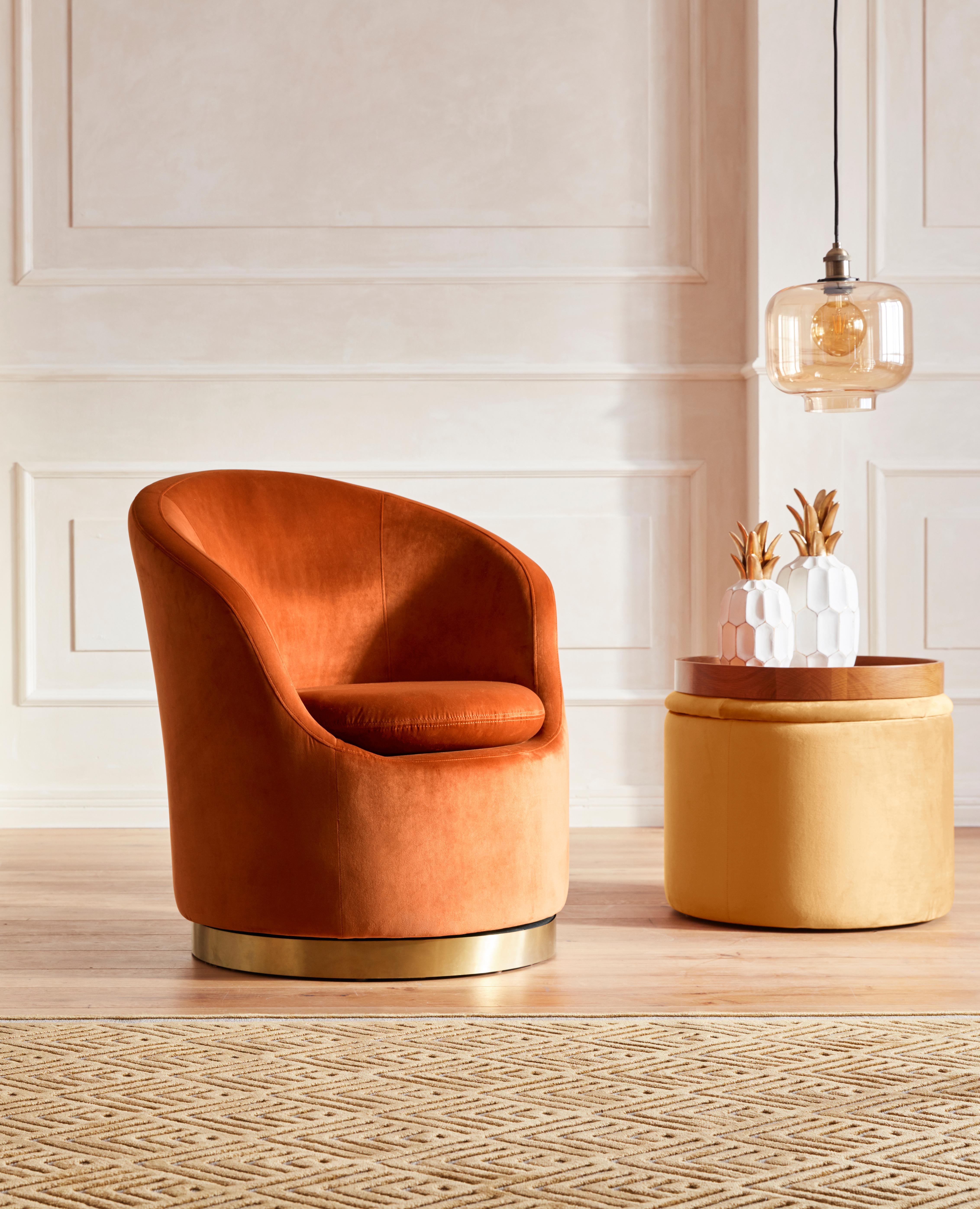 GMK Home & Living Sessel SUBOTICA mit Drehfunktion