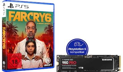 Samsung interne SSD »980 PRO 1TB + Far Cry 6 PS5«, NVMe M.2 kaufen