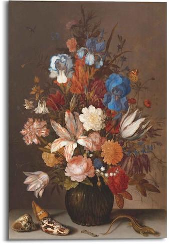 Reinders! Wandbild »Wandbild Stillleben Holländischer Maler - Alte Meister - Blumen -... kaufen